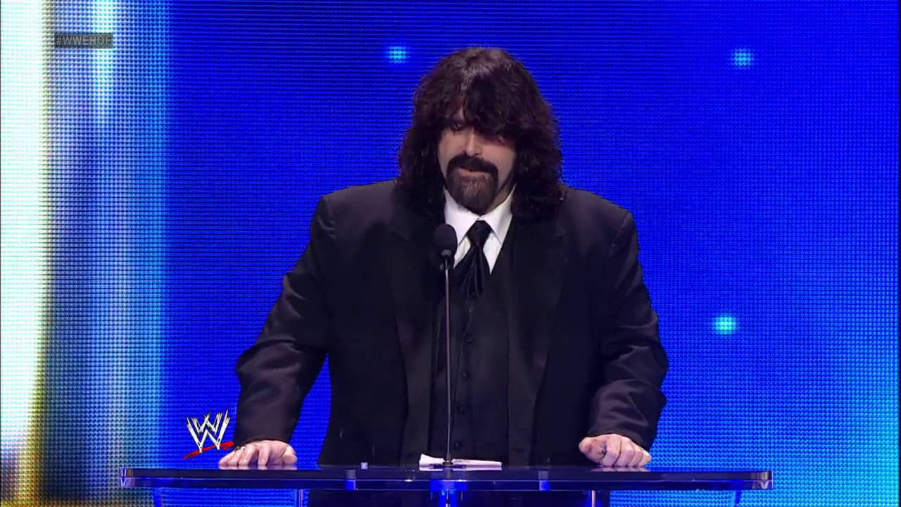 Mick Foley's WWE journey comes full circle: 2013 WWE Hall ...