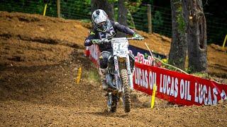 Racer X Films: Luke VonLinger 125 All Star Race Full Moto | 2019 High Point