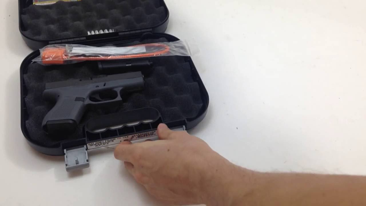 Glock 42 Grey Frame | What's in the box?