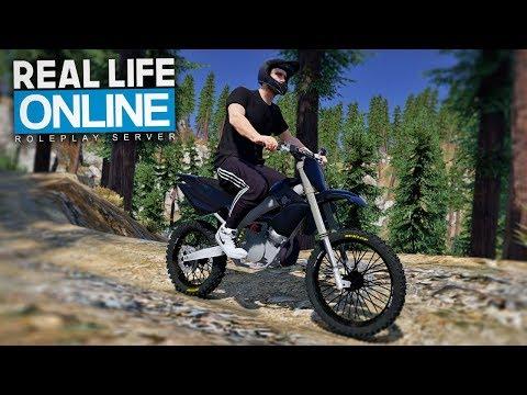 ENDURO TOUR AUF DEM RP-SERVER! 😱 - GTA 5 Real Life Online