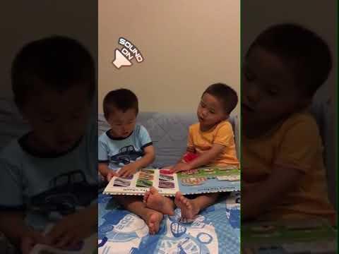 Sharing a book at bedtime 10.1.17