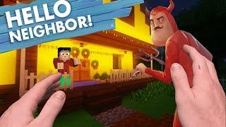 Realistic Minecraft: Hello Neighbor - Satan Neighbor is THE DEVIL!