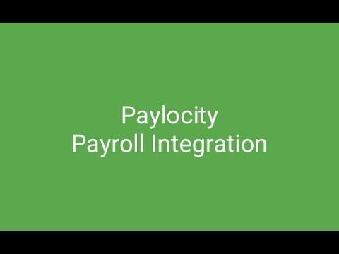 Paylocity Payroll Integration