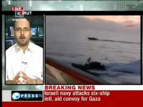 Over 16 Killed, Israel  Attacks Gaza Aid Fleet (2) [www.keepvid.com].3gp