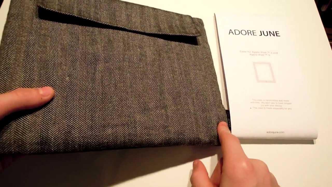 adore june ipad pro 11  Adore June Business Case - YouTube
