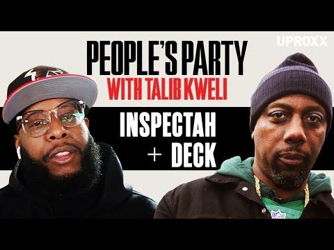 Talib Kweli & Inspectah Deck Talk Wu-Tang, Best Verses, Czarface, & Method Man | People's Party Full