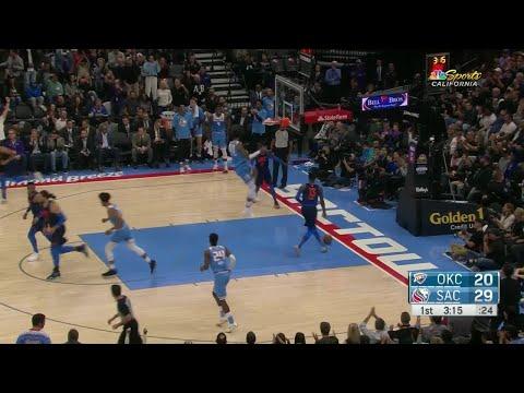 1st Quarter, One Box Video: Sacramento Kings vs. Oklahoma City Thunder