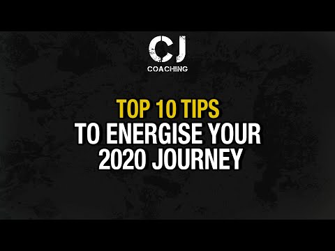 Top 10 Tips to Energise your 2020 Journey