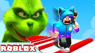 ESCAPE THE GRINCH OBBY IN ROBLOX!!