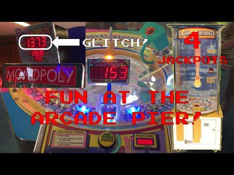 Winning Cyclone and 4 Slam A Winner Jackpots/Big Epic Glitch on Monopoly!!