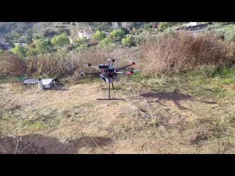 DJI Drone with Riegel LiDar