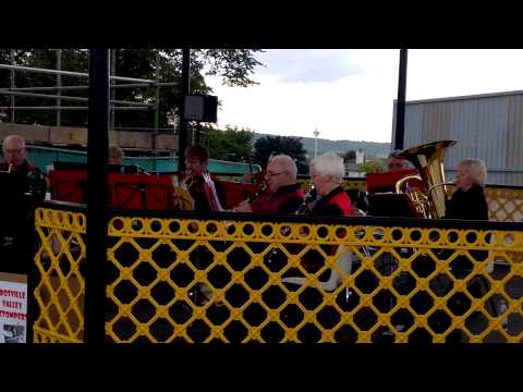 The Bosville Valley Stompers - Vine Bandstand August 2015