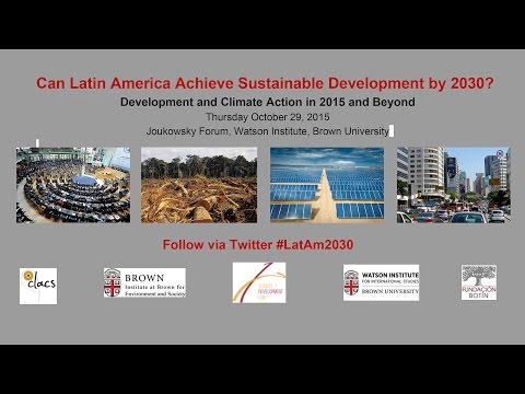 Can Latin America Achieve Sustainable Development by 2030?