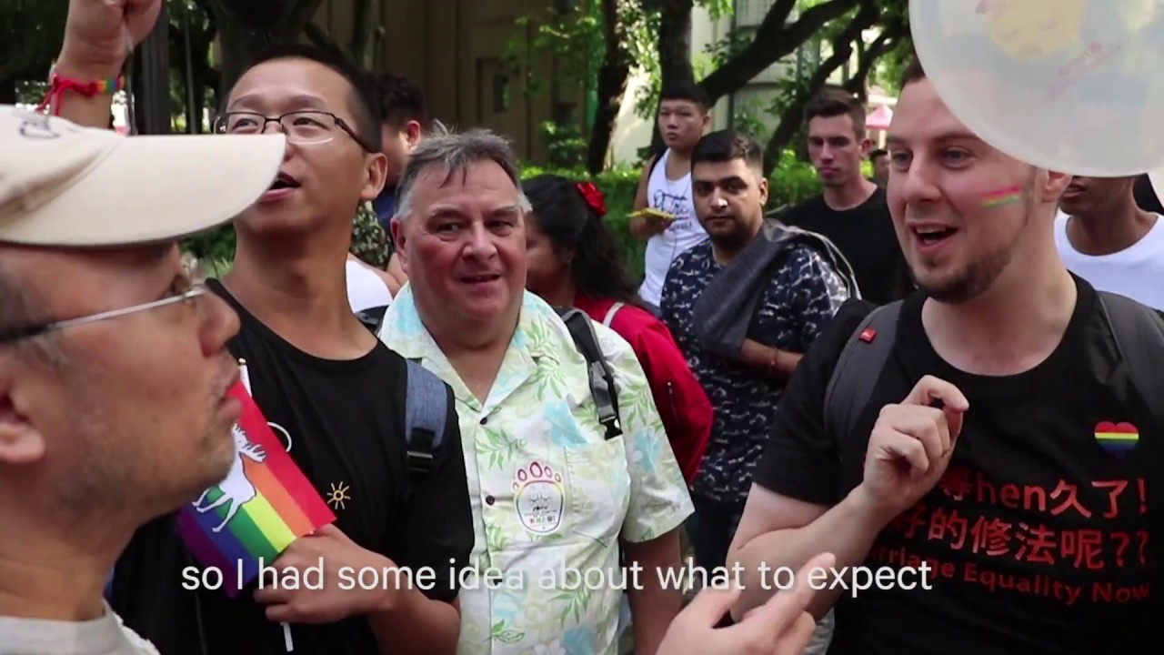 Chinese gay web celebrity going to Taiwan Gay Pride