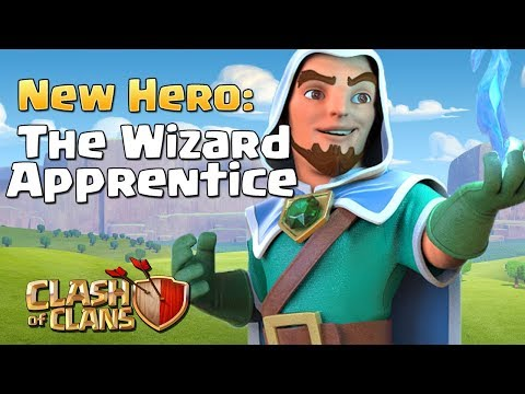 Clash of Clans NEW HERO Leak Possibility!! - The Wizard Apprentice | October 2017 CoC Update Concept