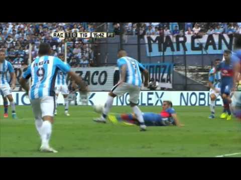 Racing y Tigre empataron en un partidazo en Avellaneda