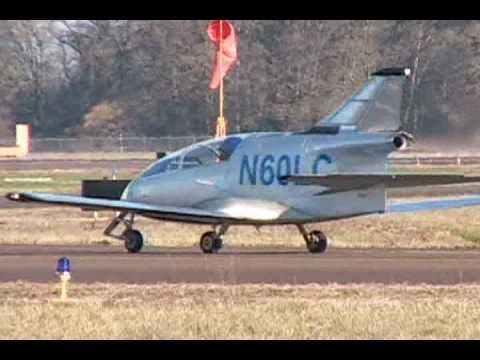 The First FLS Microjet Test Flights (BD-5J)