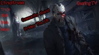 Horror Friday The 13h:Community Abend [German Troje] PS4 Pro GamingTV