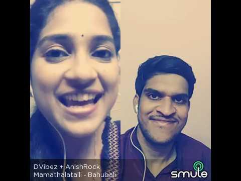 Mamatala Talli song from Bahubali - Singer Sathya Yamini & Anish Nair