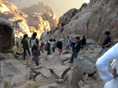Mount Sinai / Moses Descent
