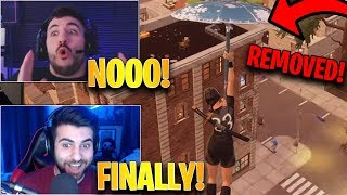 Streamers React to Glider Redeploy REMOVED From The Game! | Fortnite Highlights & Funny Moments