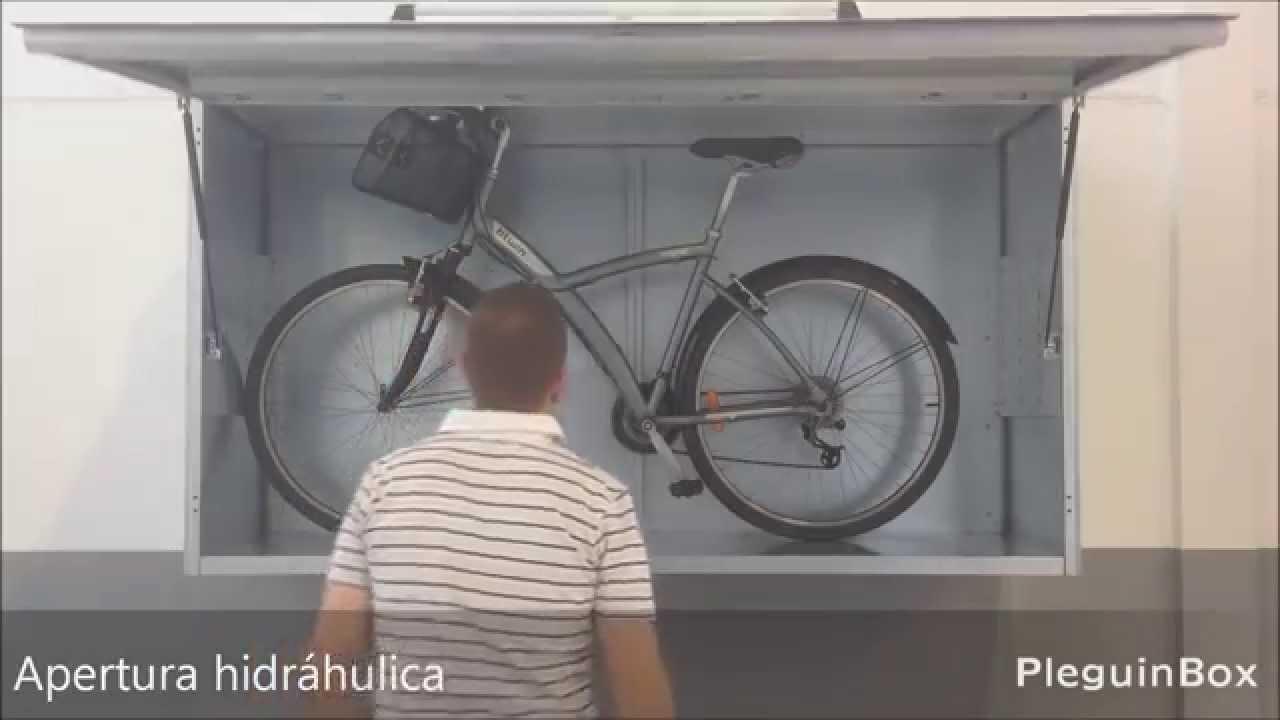 Armario metlico trastero para la plaza de garaje  YouTube