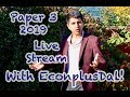Paper 3 Live Stream with EconplusDal!