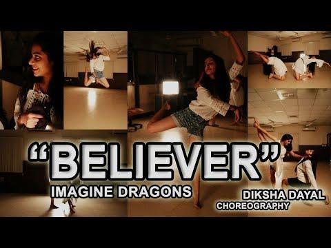 BELIEVER   Imagine Dragons   Choreography by  Diksha Dayal    USS dance society