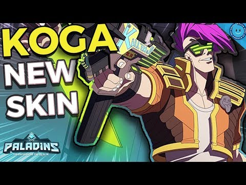 WHERE'S KOGA?! New Prototype Koga Skin! Updated Master of Arms Koga Gameplay (Paladins 1.7 Update)
