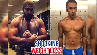 Ranveer Singh SHOCKING Weightloss For Alia Bhatt Movie Gully Boy