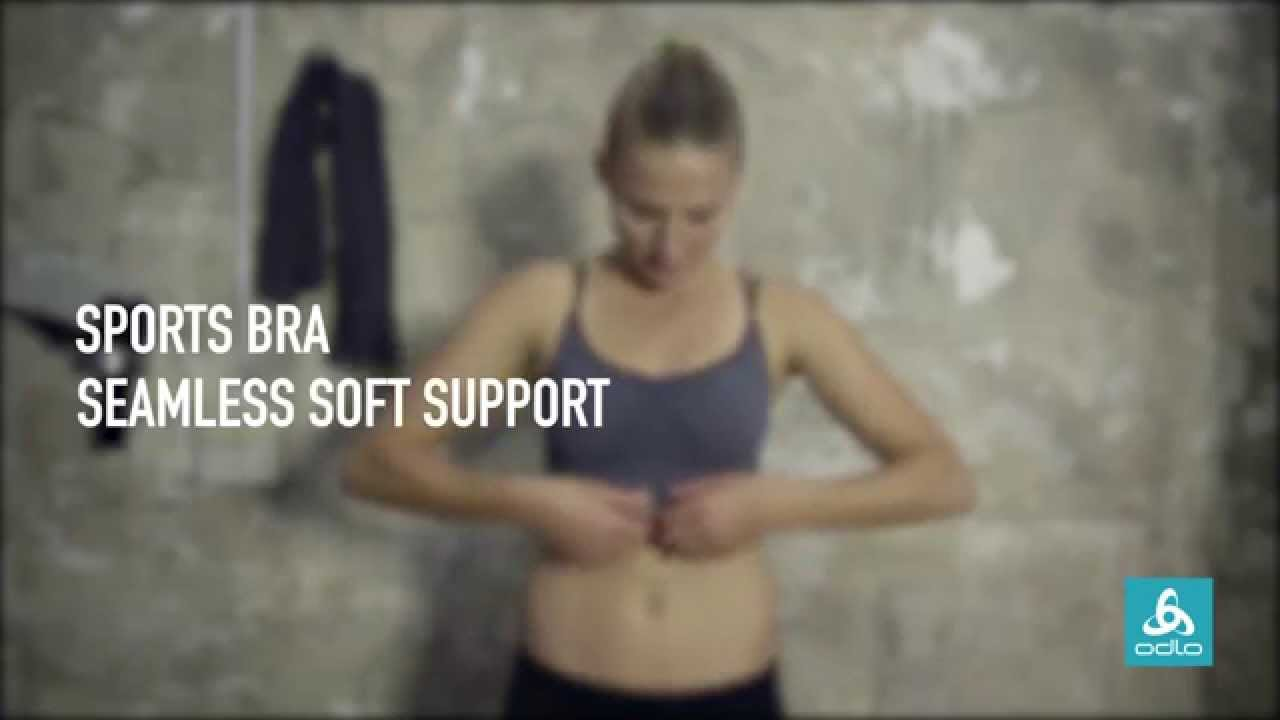 b2bb7a99f4c56 Seamless Soft Support - Sports Bras by Odlo - YouTube
