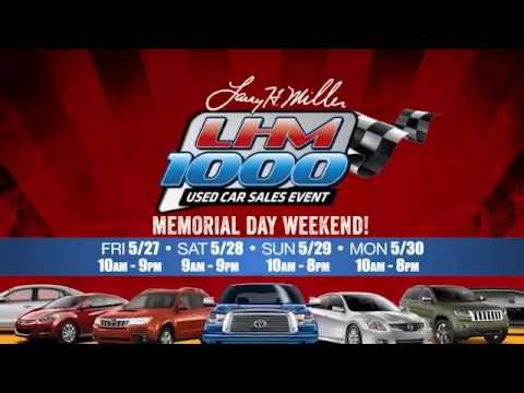 The Lhm 1000 Used Car Tent Sale At The Spokane Arena Youtube