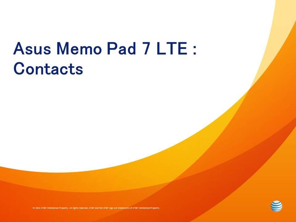 Asus Memo Pad 7 ME176C Email Videos - Waoweo