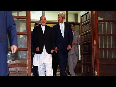 Kerry in Kabul to resolve Afghanistan presidential election stalemate