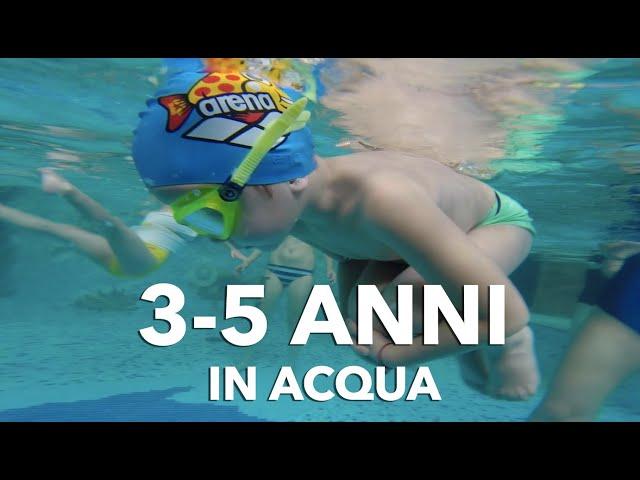 Nuoto Bimbi: imparare a nuotare dai 3 ai 5 anni
