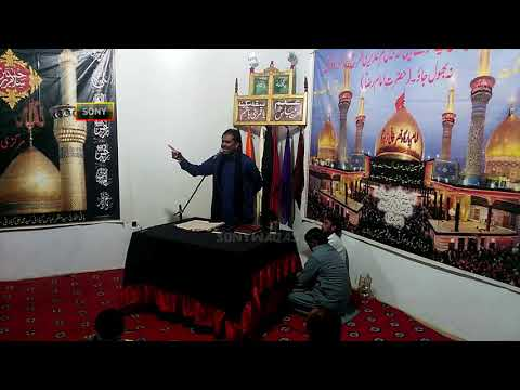 Zakir Sabir Hussain Sarwar Chack No.39/10.r  Mozah Janab Muslim On Fasilabadl