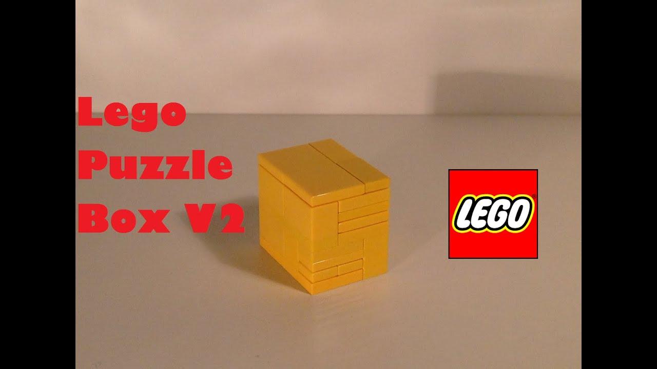Lego Puzzle Box V2 Super Mini Youtube