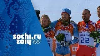 Alpine Skiing - Men's Super G - Kjetil Jansrud Wins Gold | Sochi 2014 Winter Olympics