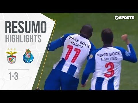 Highlights | Resumo: Benfica 1-3 FC Porto (Allianz Cup 18/19 1/2 final)