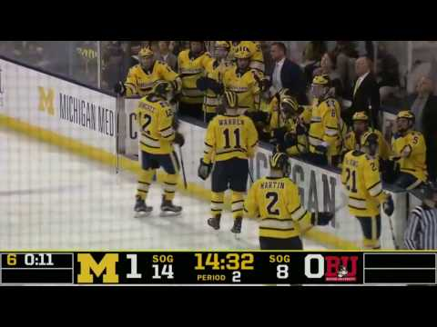 11/12/2016 - Boston University at Michigan Highlights