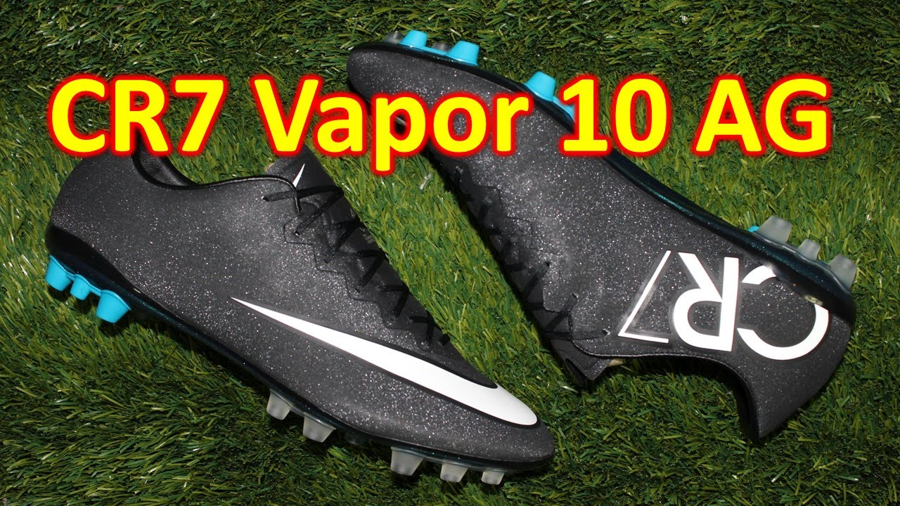 online store 8c956 d93f6 Nike CR7 Mercurial Vapor 10 AG Gala Glimmer - Review + On Feet HD - YouTube