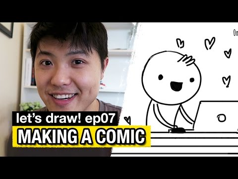 How I make comics // Let's Draw! - Ep07