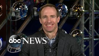 Drew Brees speaks out on controversial call, Super Bowl