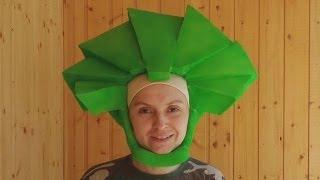 Фиксики. Как сделать шапочку-парик для костюма Папуса