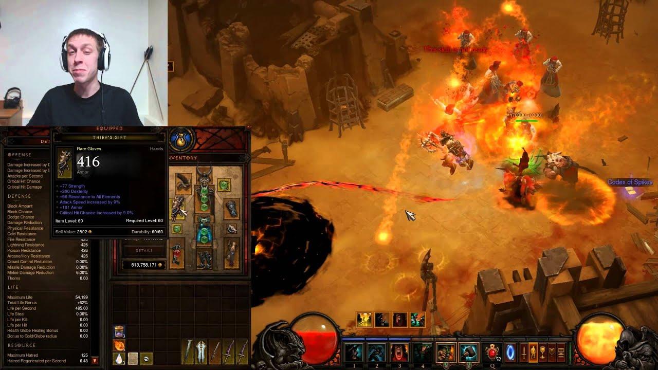Demon Hunter Gear Guide & Skills - 130 Mil Starters Set - Diablo 3 ...