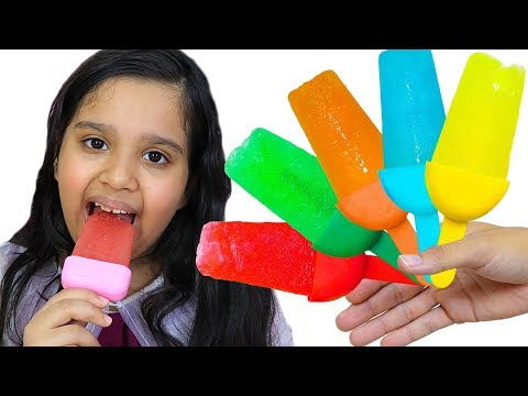 shfa learn color with fruit ice cream  - Kinderlieder und lernen Farben