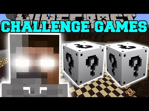 Minecraft: SKELEBRINE CHALLENGE GAMES - Lucky Block Mod - Modded Mini-Game