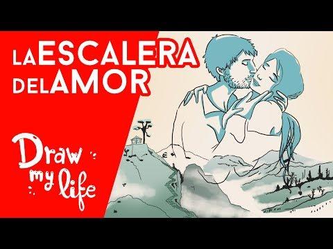 La ESCALERA DEL AMOR - Draw My Life en Español