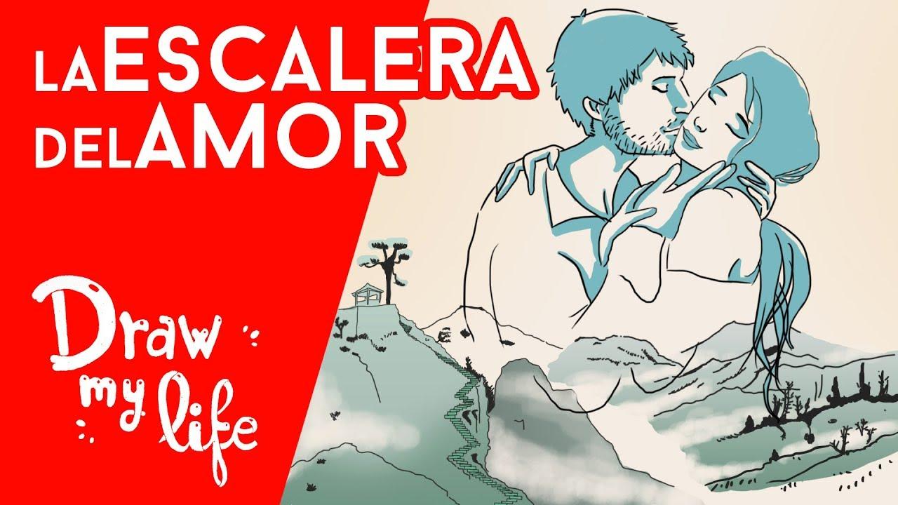 La ESCALERA DEL AMOR - Draw My Life