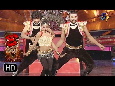 Rahul and Dharsini Performance | Dhee Jodi | 25th January 2017| ETV Telugu